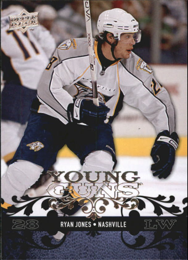 2008-09 Upper Deck #226 Ryan Jones YG RC