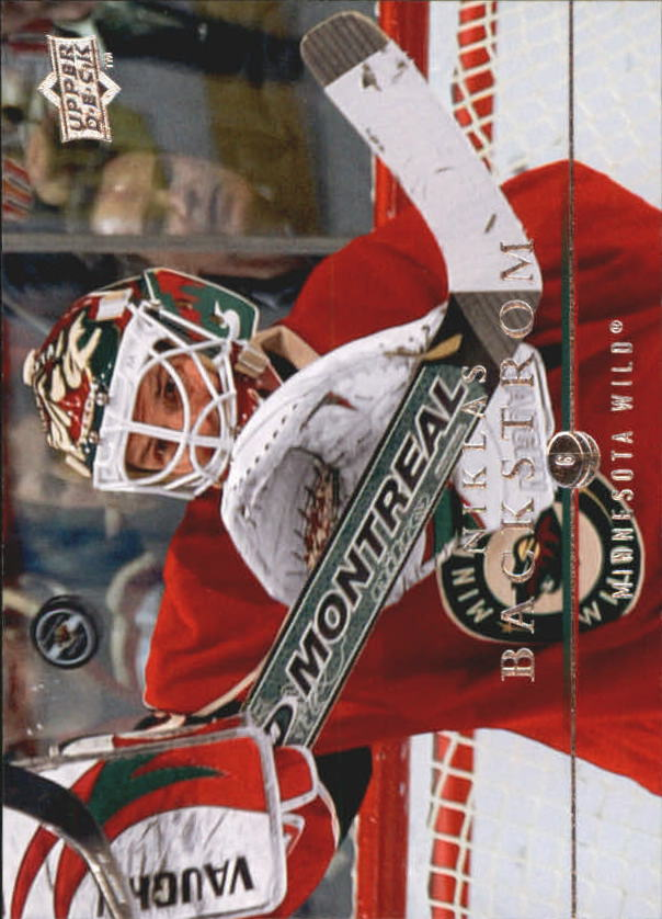 2008-09 Upper Deck #348 Niklas Backstrom