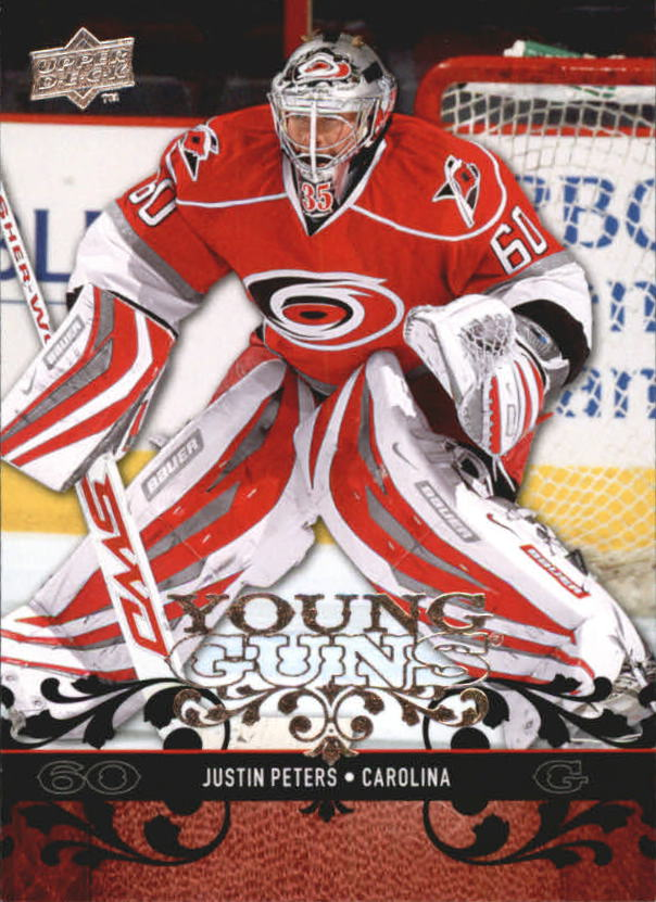 2008-09 Upper Deck #456 Justin Peters YG RC