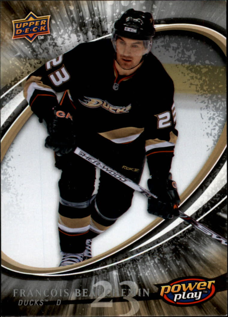 2008-09 Upper Deck Power Play #1 Francois Beauchemin