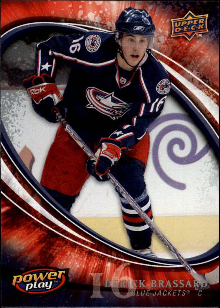 2008-09 Upper Deck Power Play #82 Derick Brassard RC