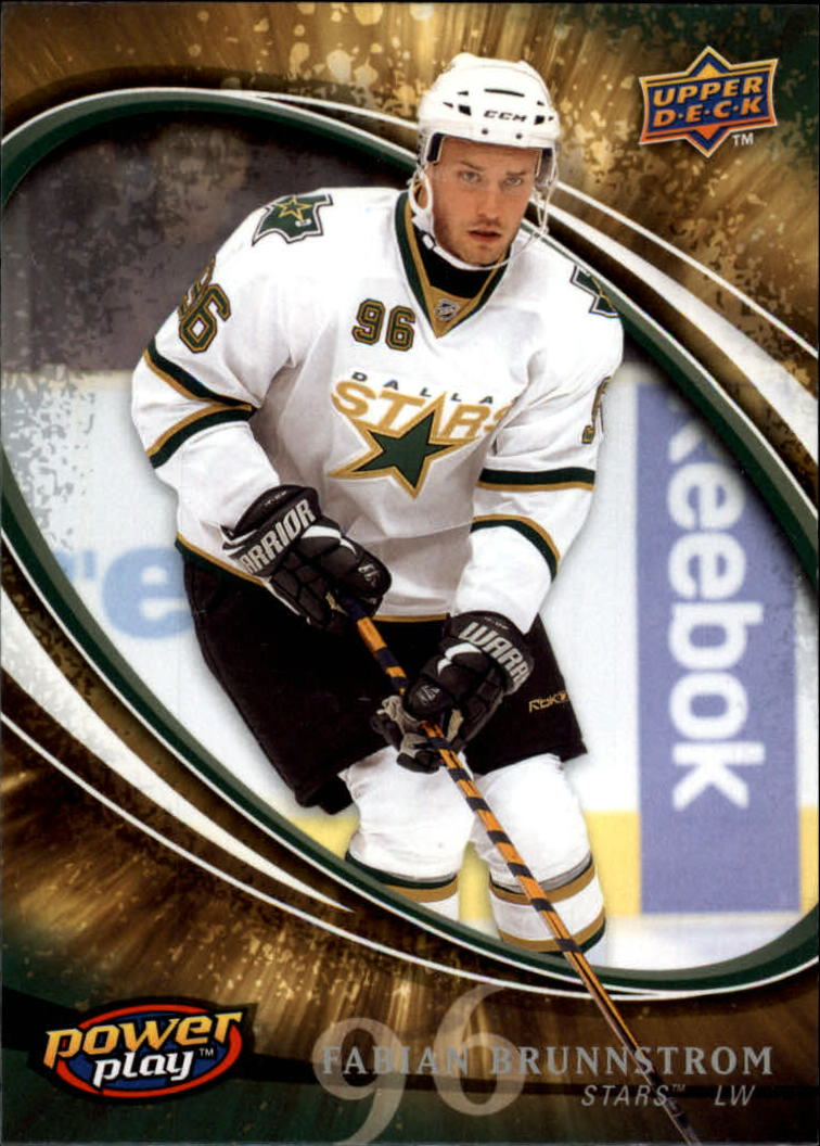 2008-09 Upper Deck Power Play #322 Fabian Brunnstrom RC