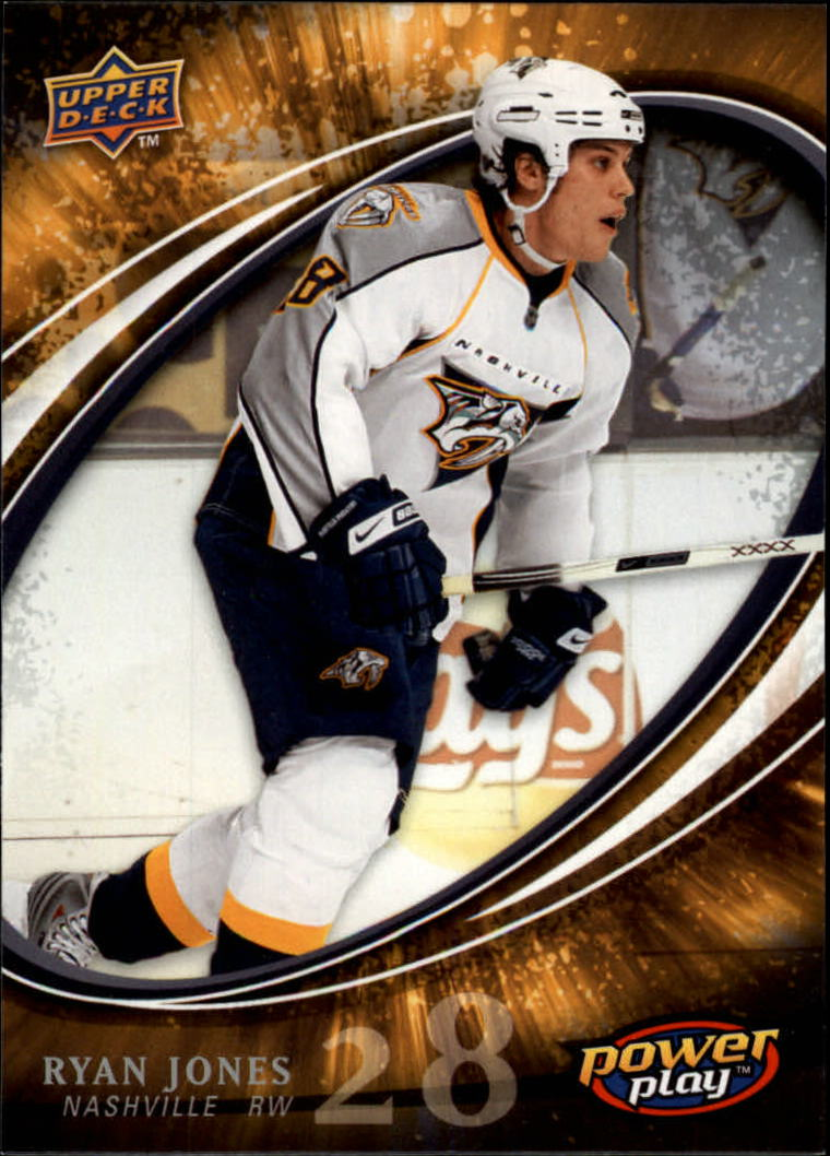 2008-09 Upper Deck Power Play #348 Ryan Jones RC