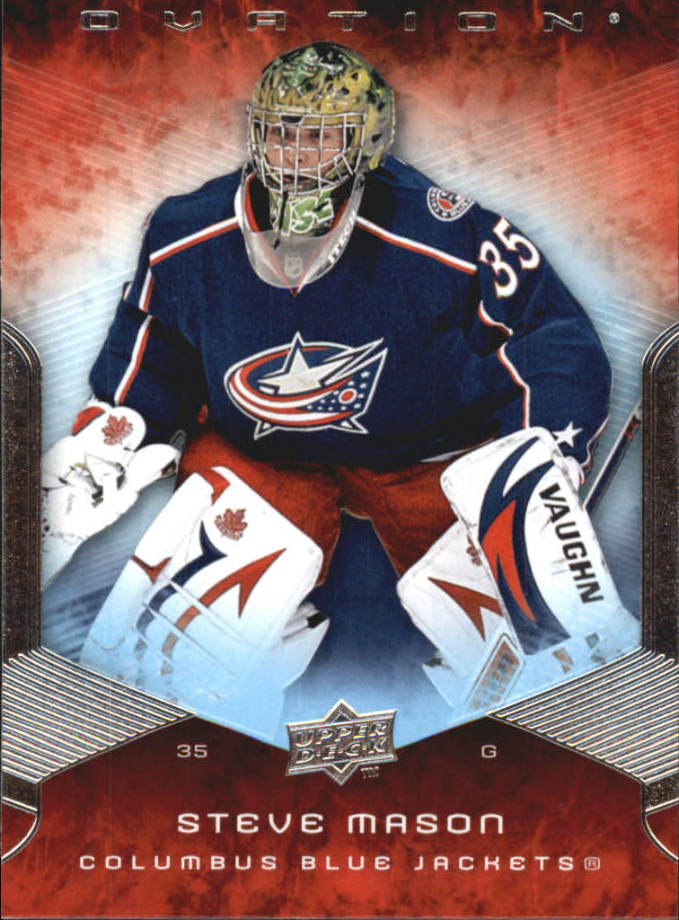 2008-09 Upper Deck Ovation #15 Steve Mason RC