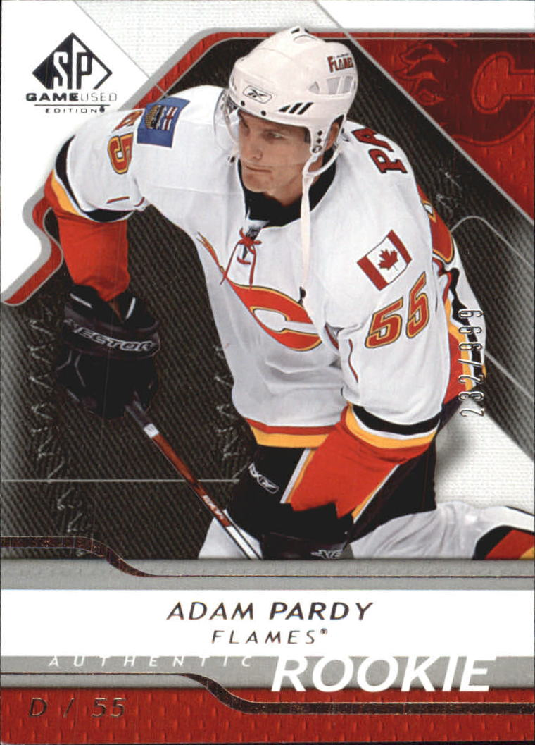 2008-09 SP Game Used #173 Adam Pardy RC