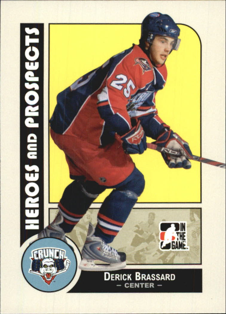 2008-09 ITG Heroes and Prospects #23 Derick Brassard