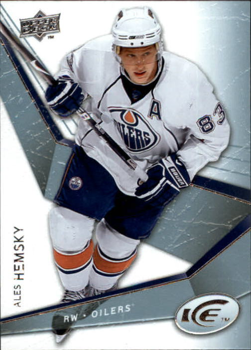 2008-09 Upper Deck Ice #1 Ales Hemsky