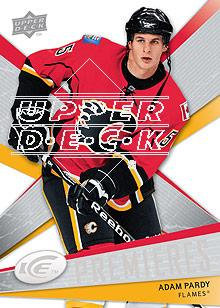 2008-09 Upper Deck Ice #136 Adam Pardy RC