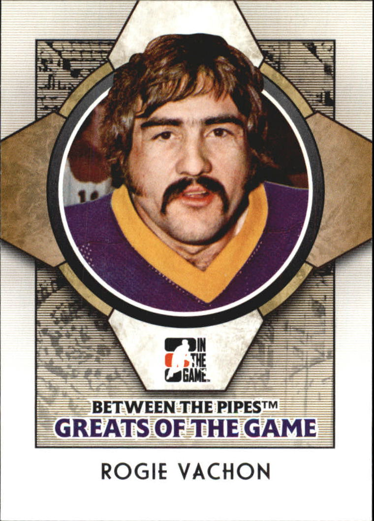 2008-09 Between The Pipes #82 Rogie Vachon