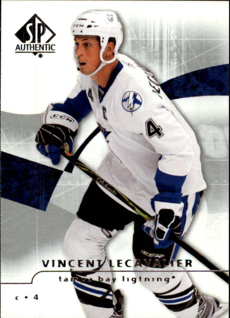2008-09 SP Authentic #3 Vincent Lecavalier
