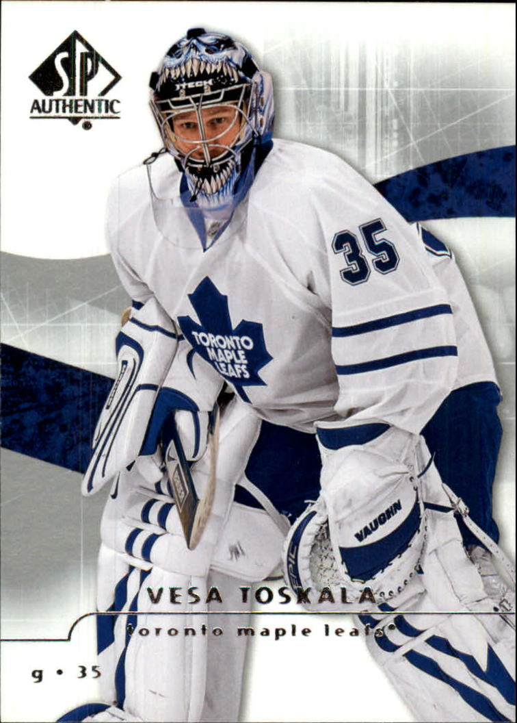 2008-09 SP Authentic #4 Vesa Toskala