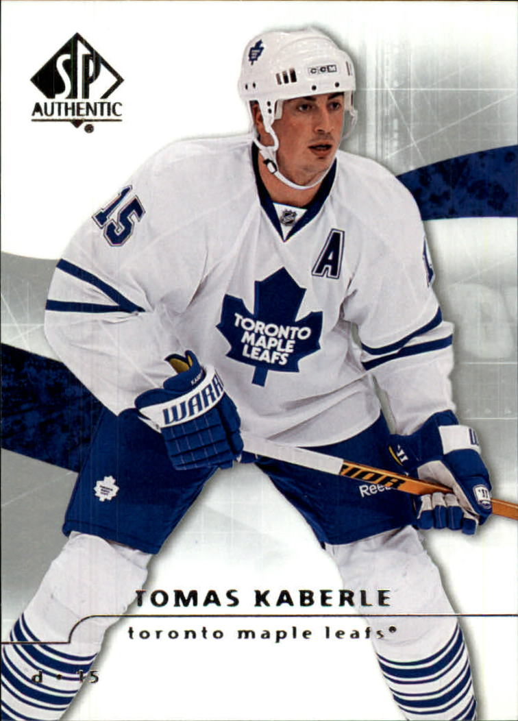 2008-09 SP Authentic #7 Tomas Kaberle
