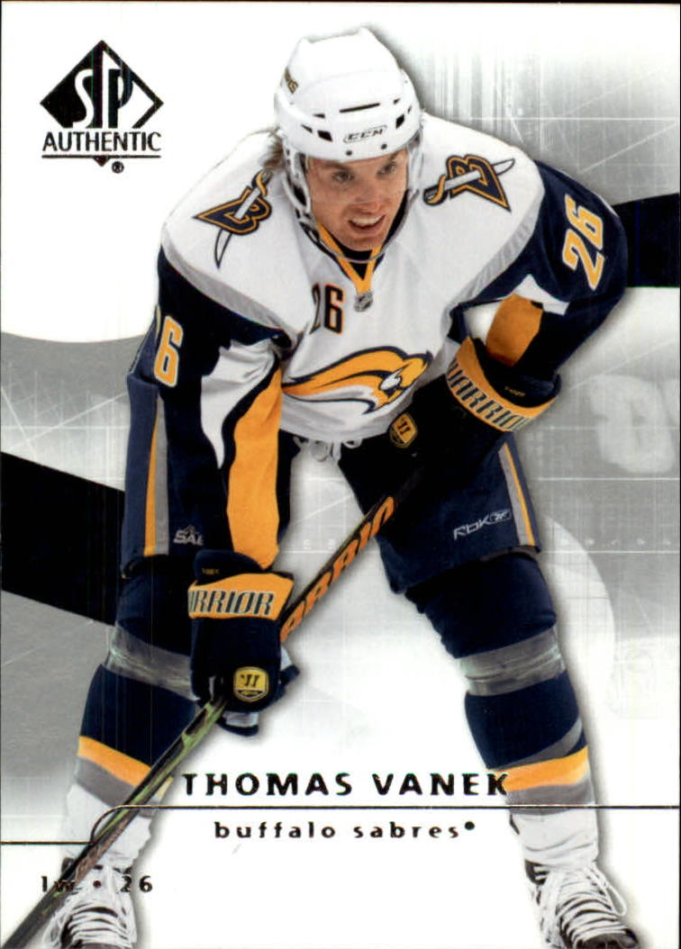 2008-09 SP Authentic #8 Thomas Vanek