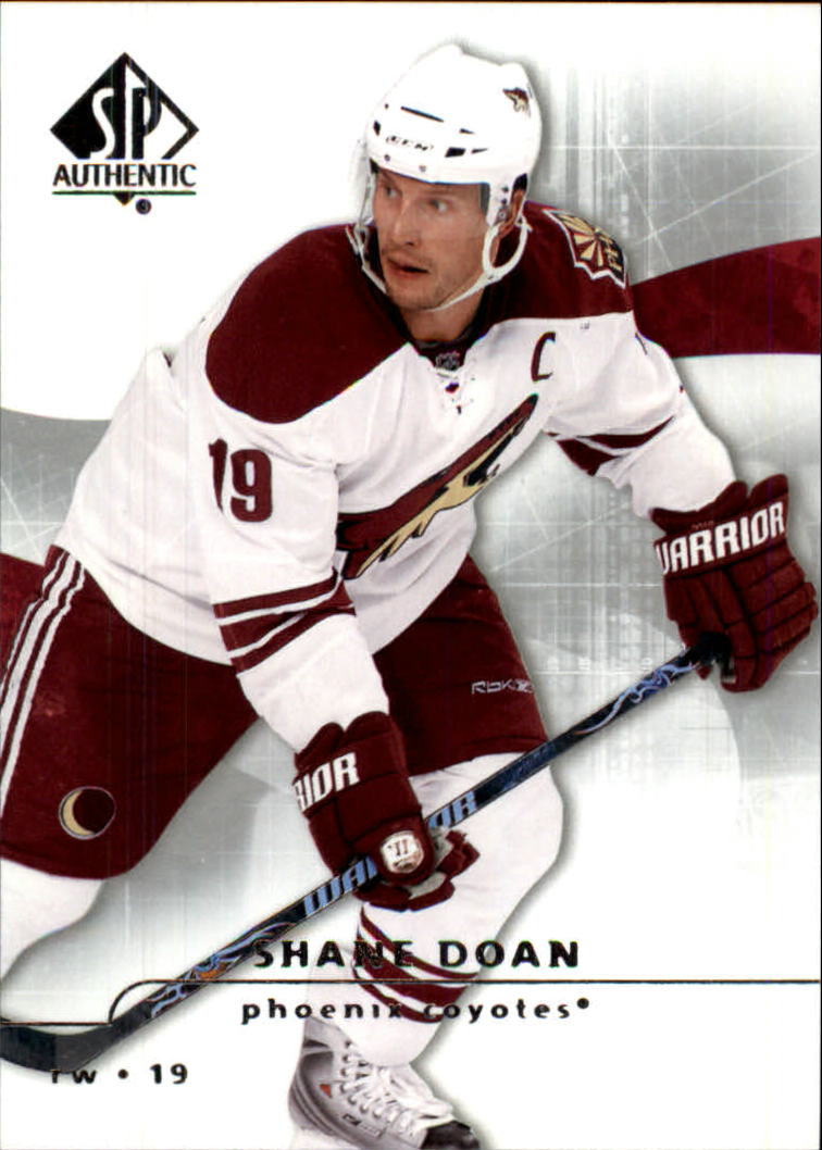 2008-09 SP Authentic #12 Shane Doan