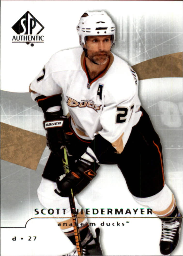 2008-09 SP Authentic #13 Scott Niedermayer