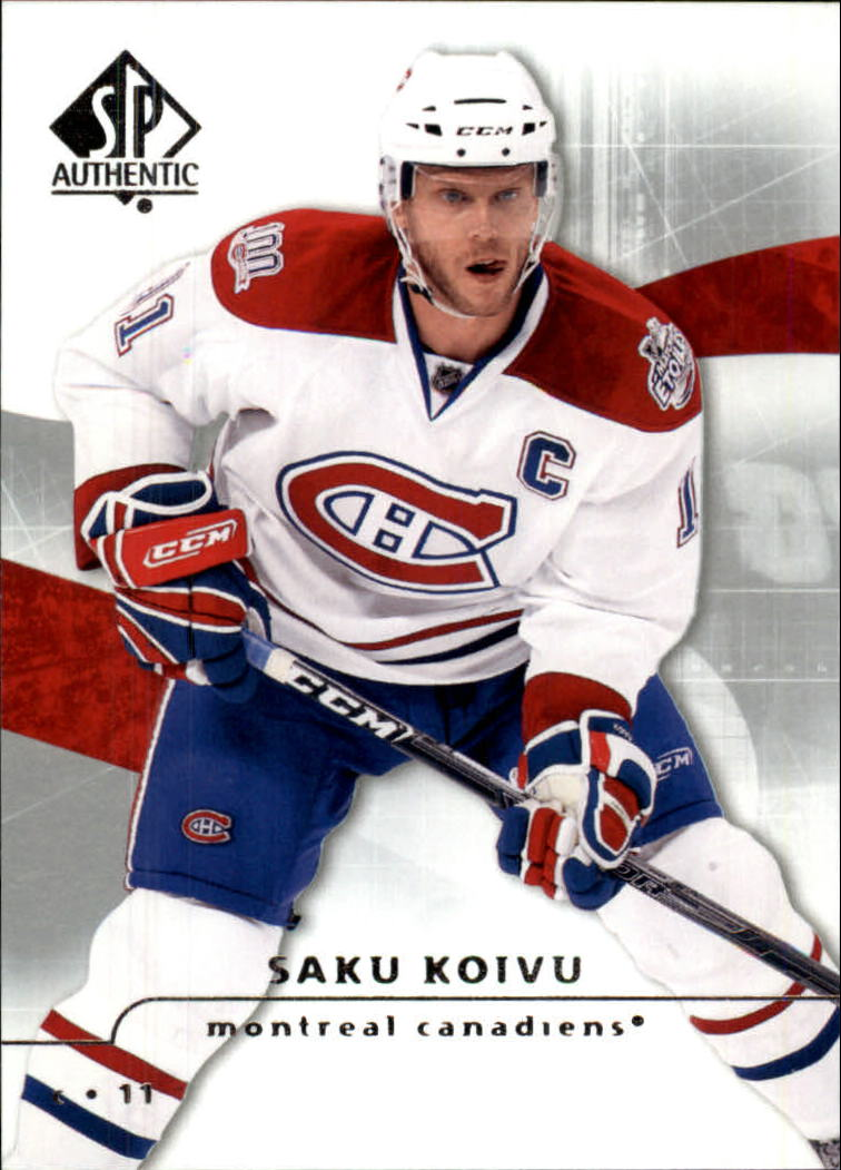 2008-09 SP Authentic #14 Saku Koivu