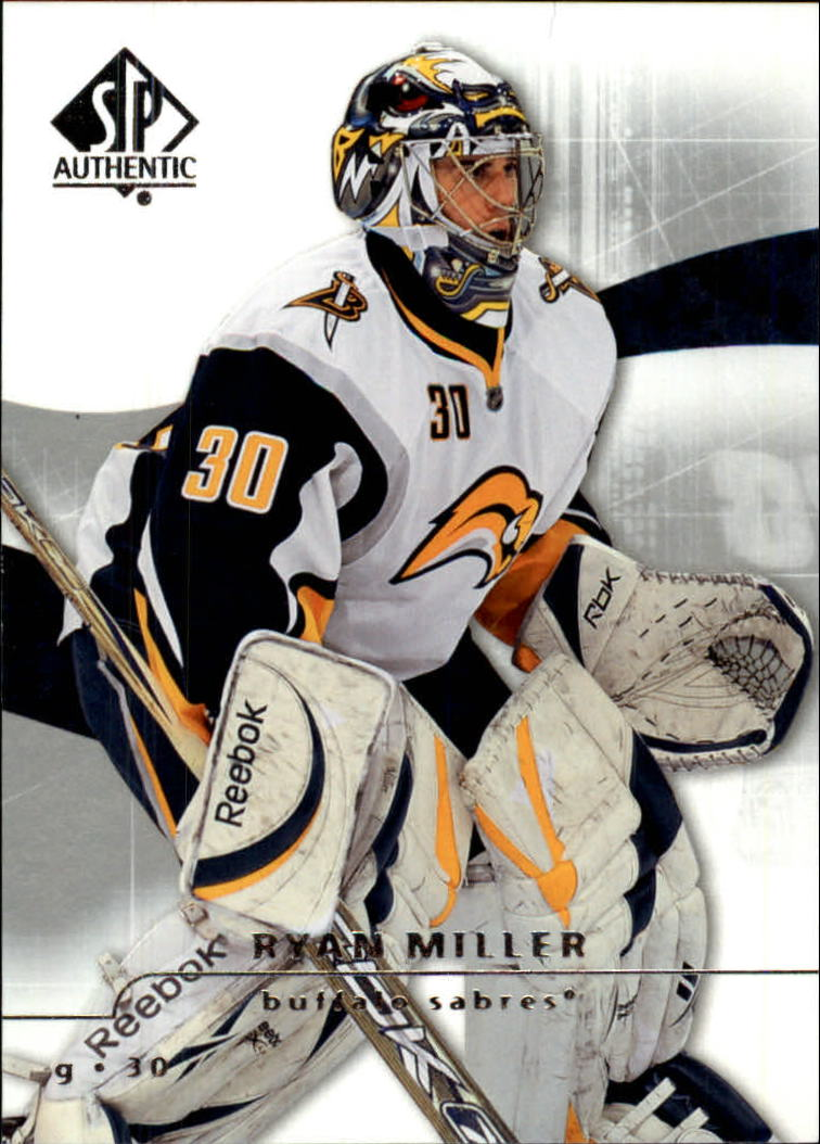 2008-09 SP Authentic #15 Ryan Miller