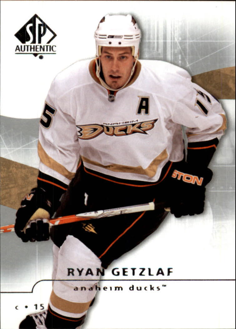 2008-09 SP Authentic #16 Ryan Getzlaf