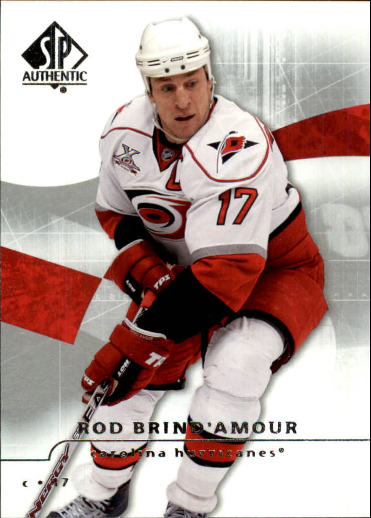 2008-09 SP Authentic #17 Rod Brind`Amour
