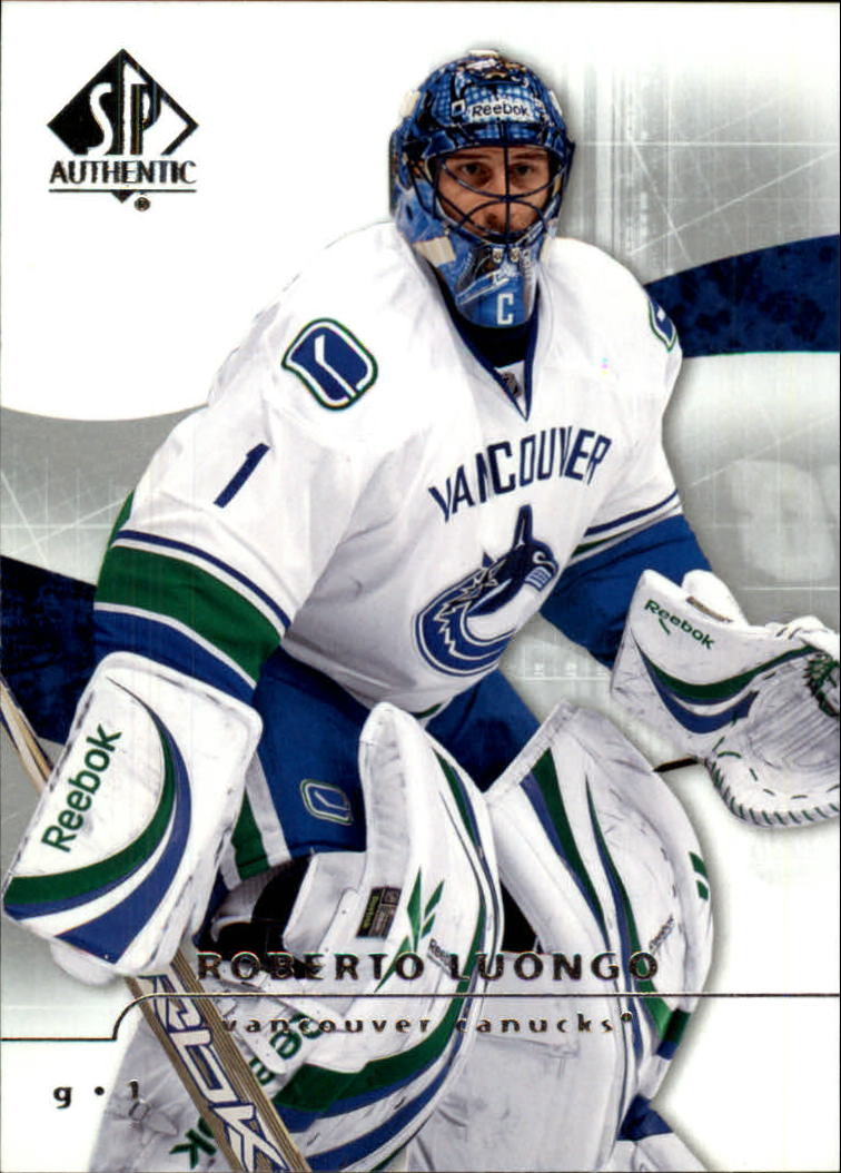 2008-09 SP Authentic #18 Roberto Luongo