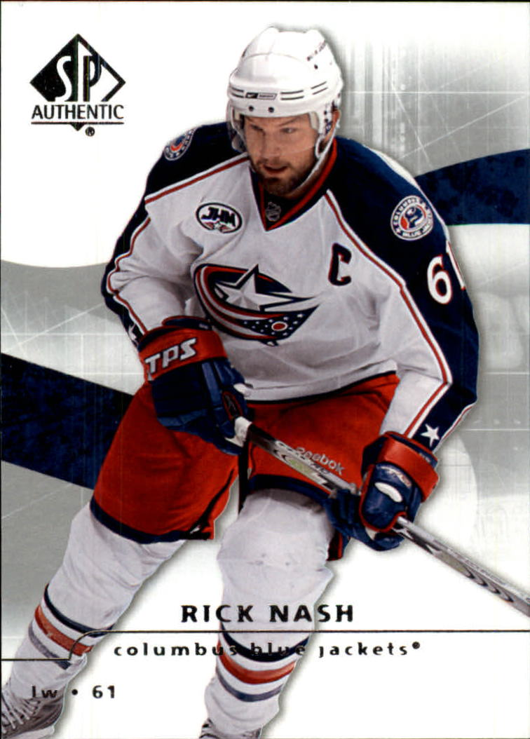 2008-09 SP Authentic #19 Rick Nash