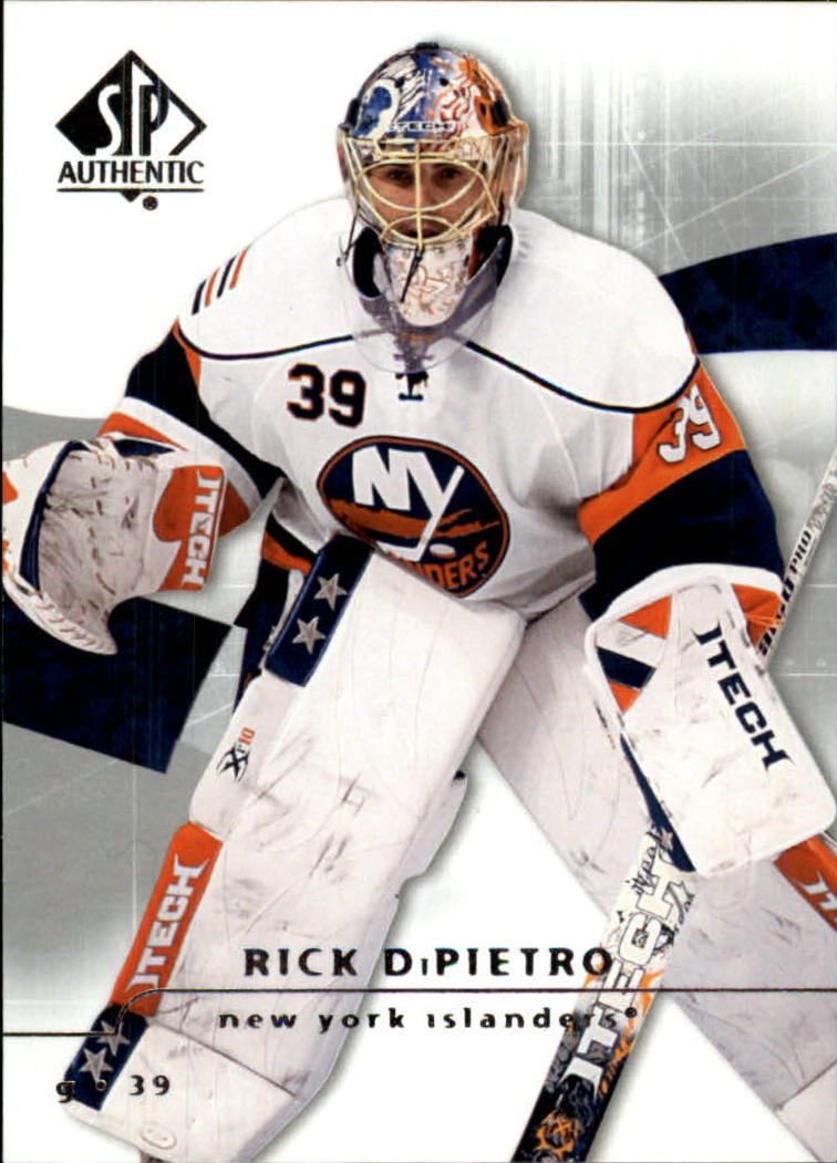 2008-09 SP Authentic #20 Rick DiPietro