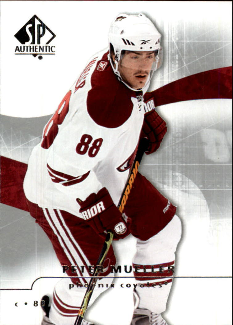 2008-09 SP Authentic #22 Peter Mueller