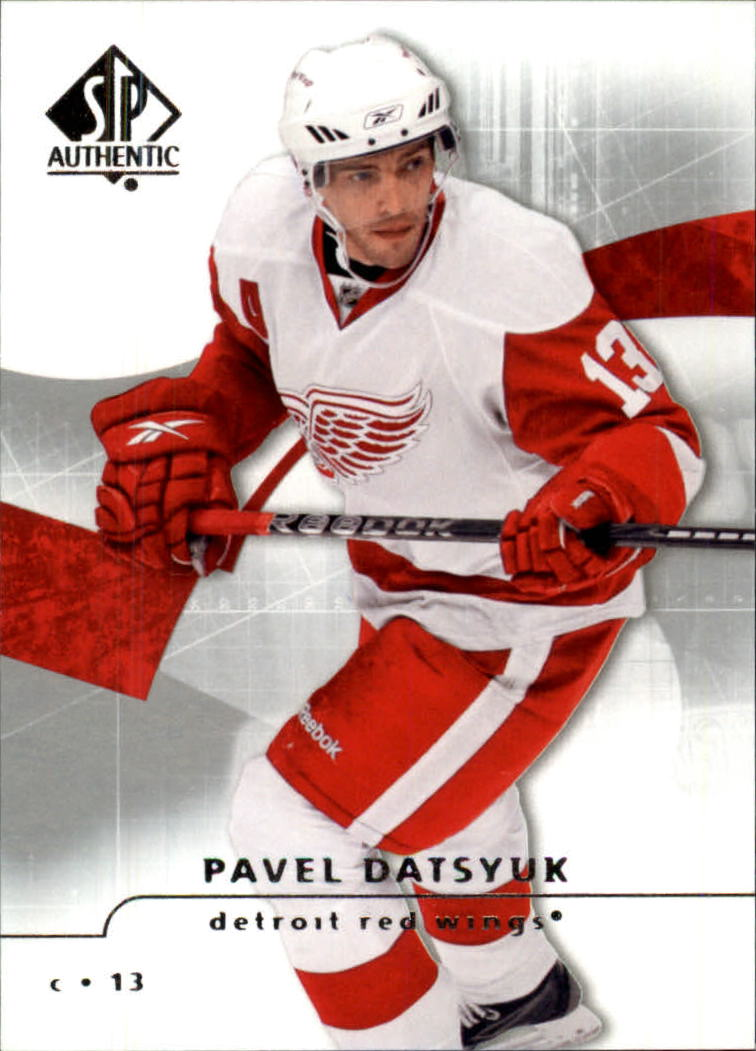2008-09 SP Authentic #23 Pavel Datsyuk