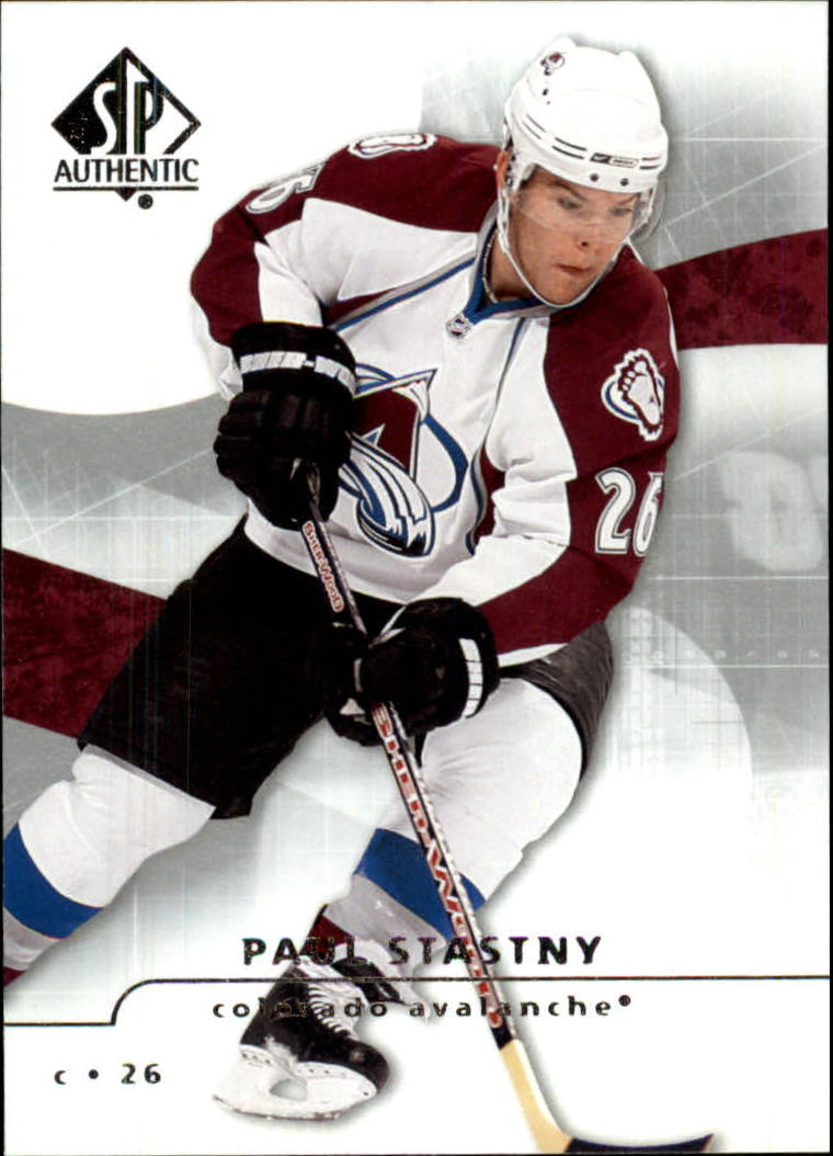2008-09 SP Authentic #24 Paul Stastny