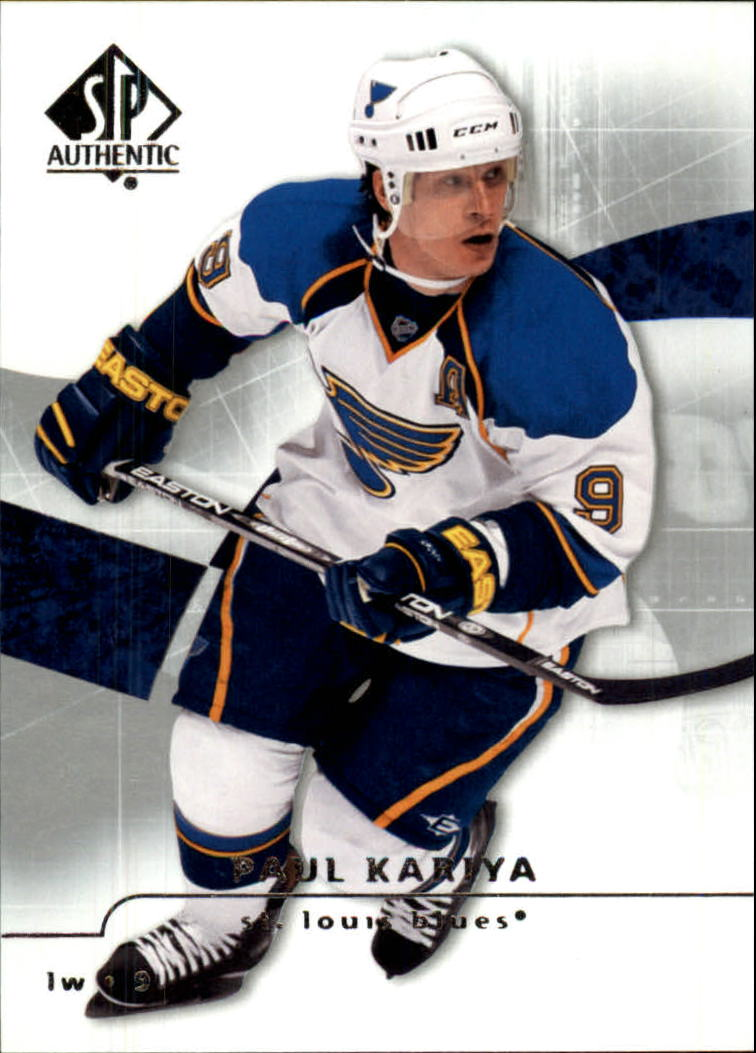 2008-09 SP Authentic #25 Paul Kariya