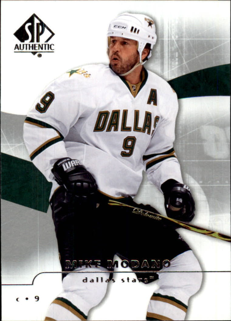 2008-09 SP Authentic #40 Mike Modano