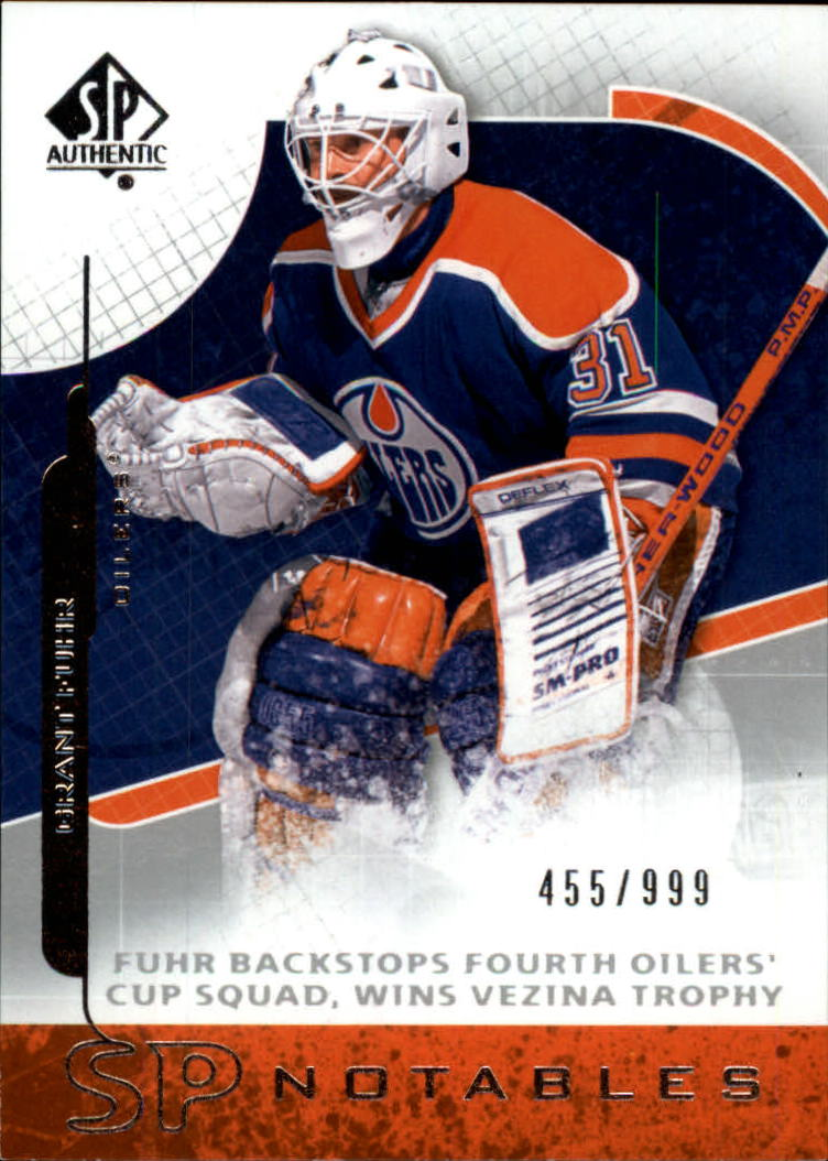 2008-09 SP Authentic #114 Grant Fuhr N