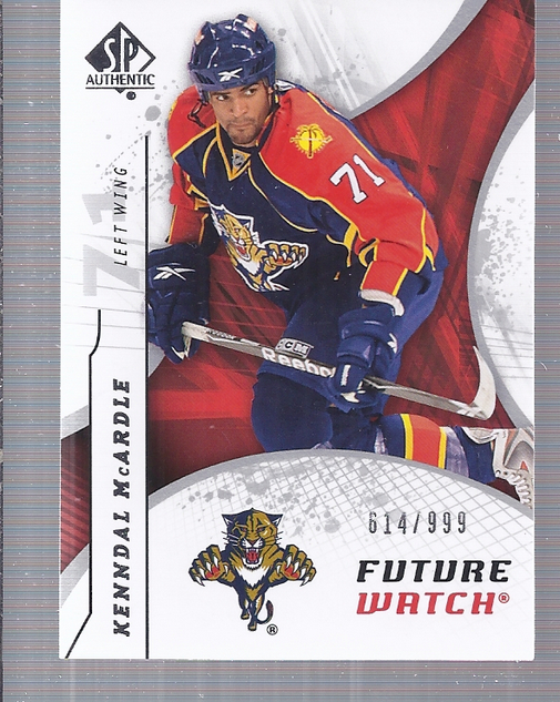 2008-09 SP Authentic #182 Kenndal McArdle RC