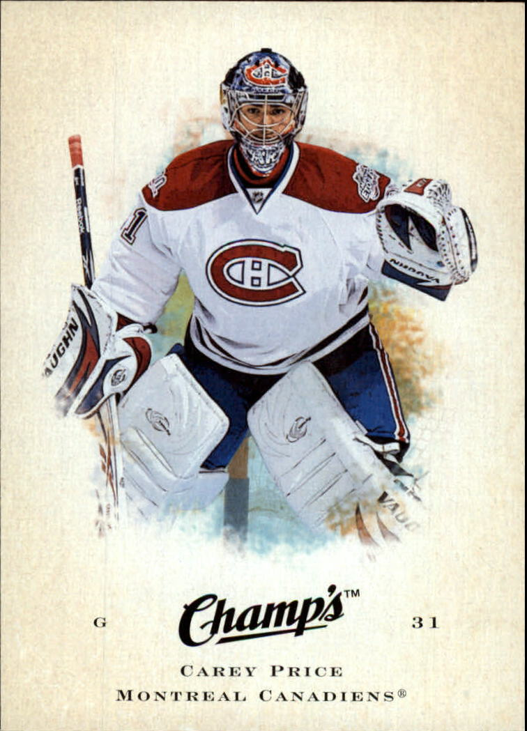 2008-09 Upper Deck Champ's #15 Carey Price