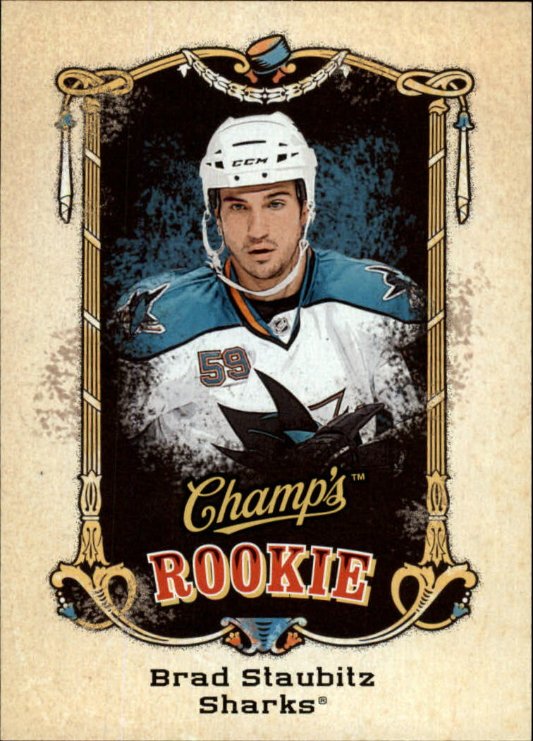 2008-09 Upper Deck Champ's #135 Brad Staubitz RC