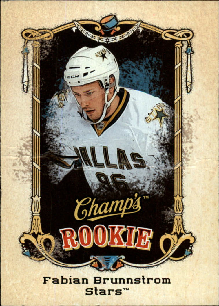 2008-09 Upper Deck Champ's #199 Fabian Brunnstrom RC