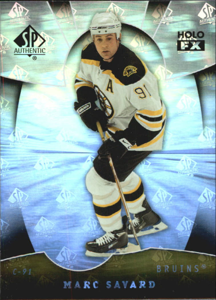 2008-09 SP Authentic Holoview FX #FX46 Marc Savard