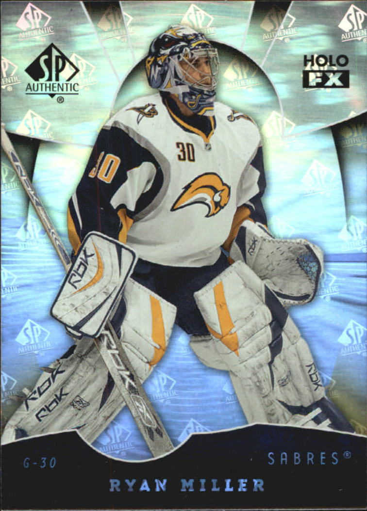 2008-09 SP Authentic Holoview FX #FX47 Ryan Miller