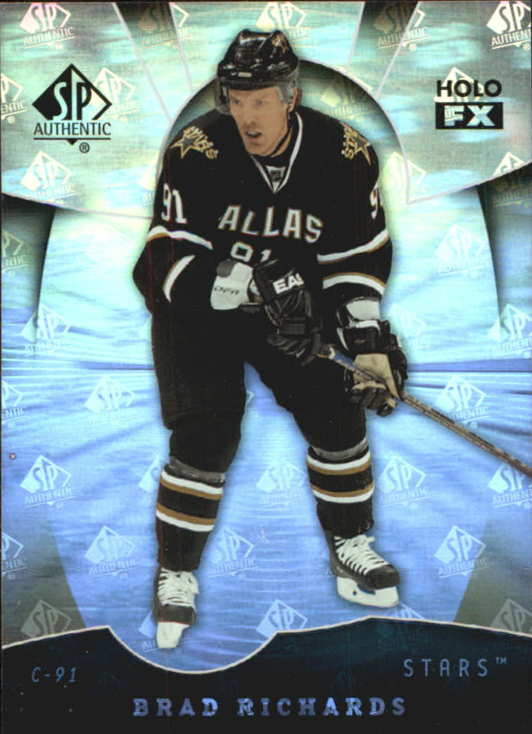 2008-09 SP Authentic Holoview FX #FX56 Brad Richards