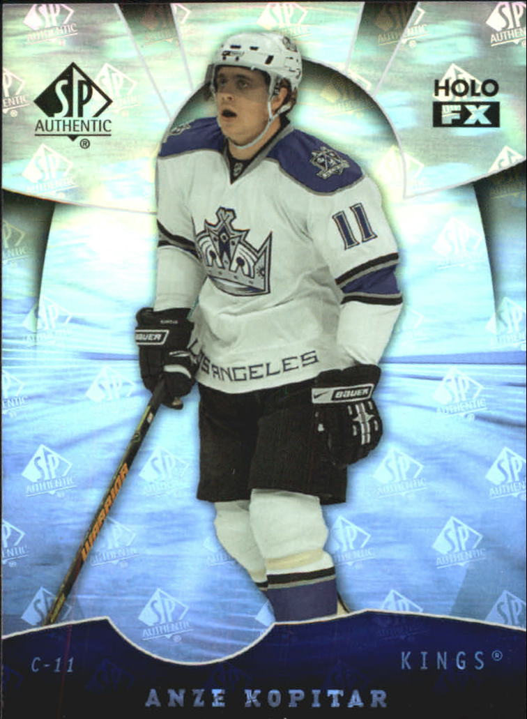 2008-09 SP Authentic Holoview FX #FX63 Anze Kopitar