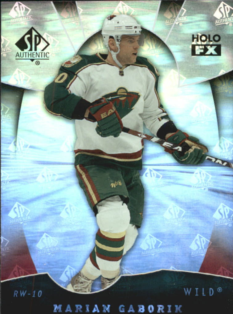 2008-09 SP Authentic Holoview FX #FX64 Marian Gaborik