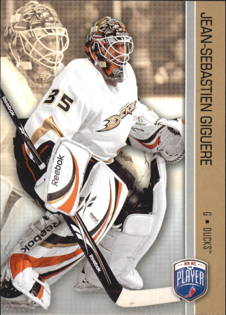2008-09 Be A Player #7 Jean-Sebastien Giguere