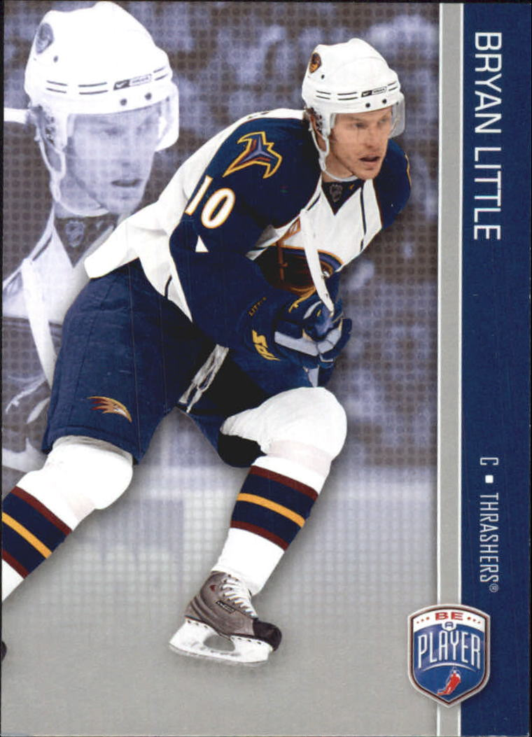 2008-09 Be A Player #9 Bryan Little