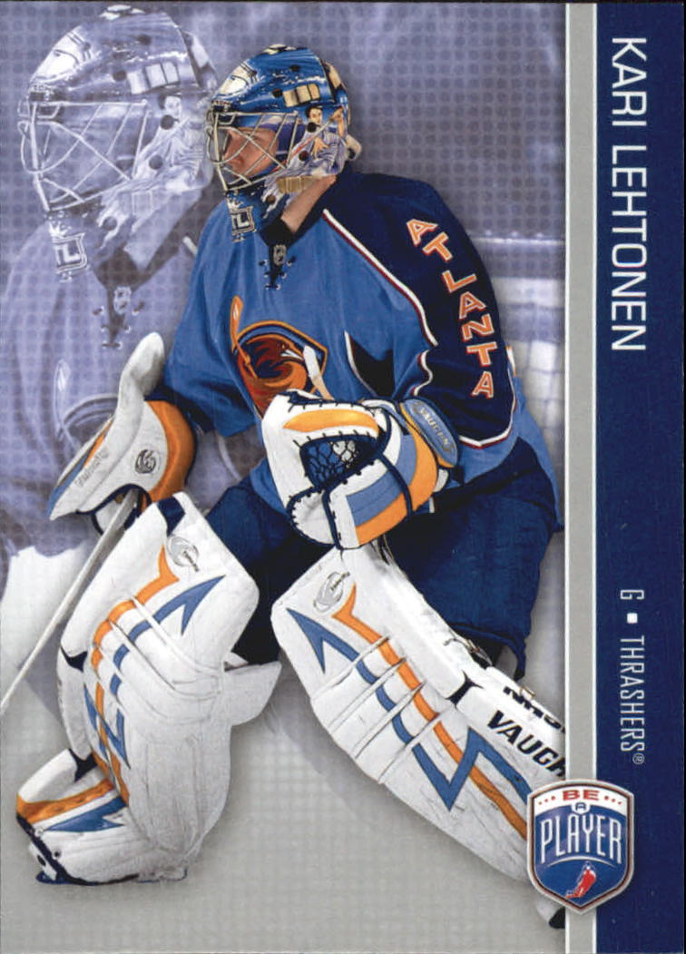 2008-09 Be A Player #10 Kari Lehtonen