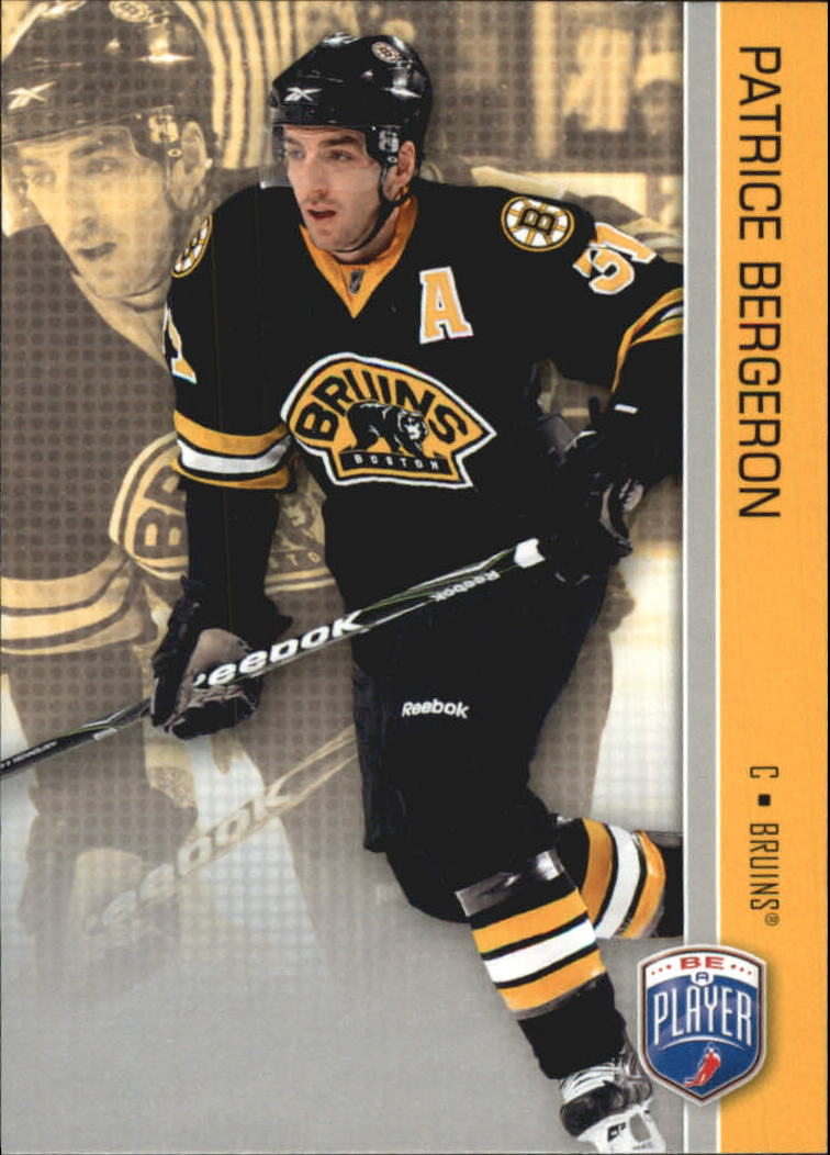 2008-09 Be A Player #13 Patrice Bergeron