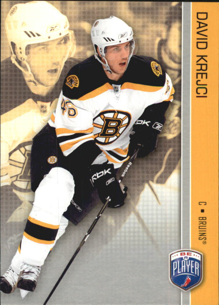 2008-09 Be A Player #15 David Krejci