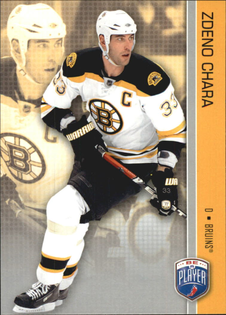 2008-09 Be A Player #17 Zdeno Chara