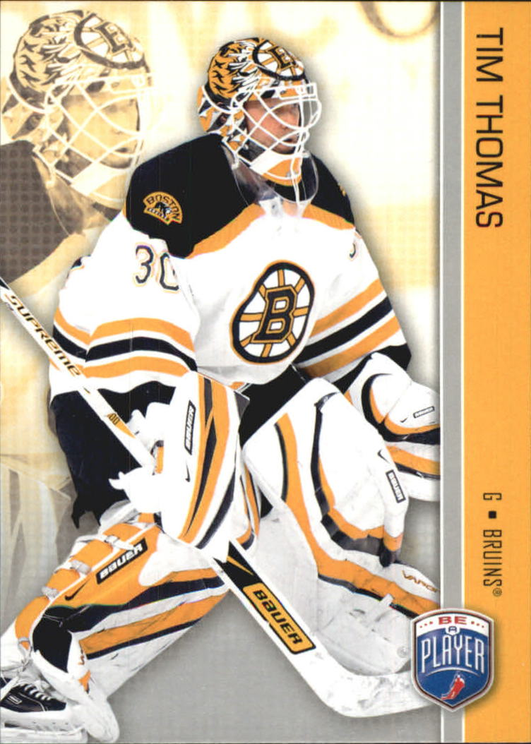 2008-09 Be A Player #18 Tim Thomas