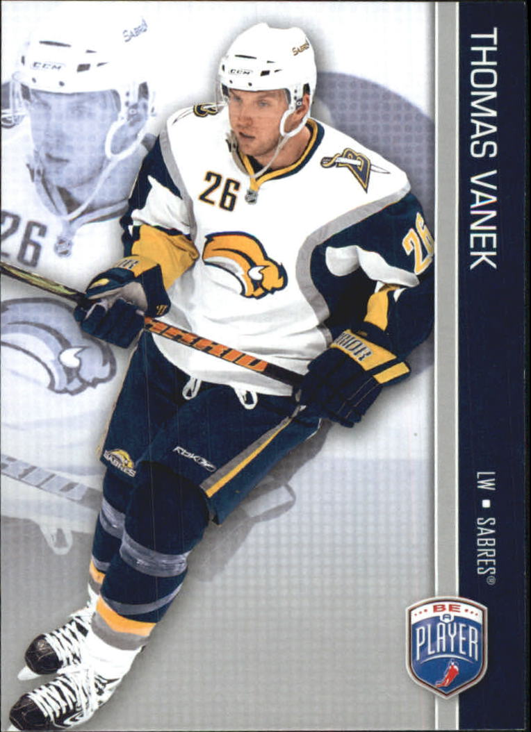 2008-09 Be A Player #21 Thomas Vanek
