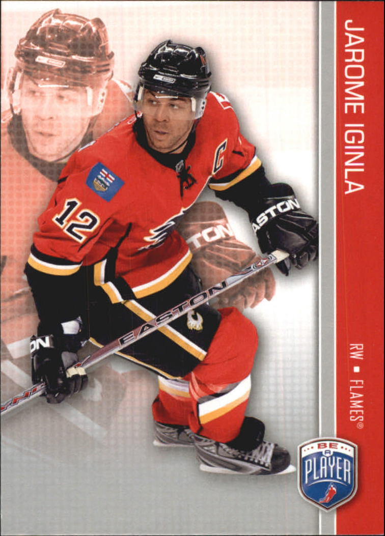 2008-09 Be A Player #25 Jarome Iginla
